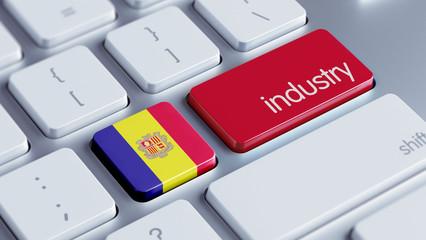 Andorra Industry Concept