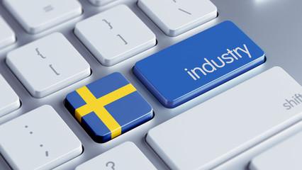 Sweden Industry Concept
