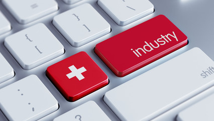 Switzerland Industry Concept