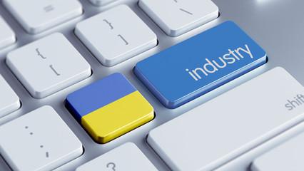 Ukraine Industry Concept
