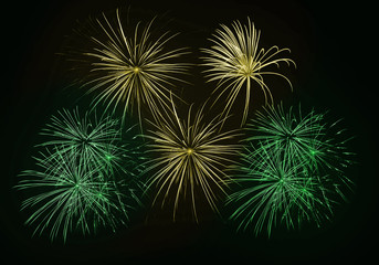 fireworks feu artifice brésil