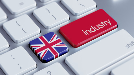 United Kingdom Industry Concept