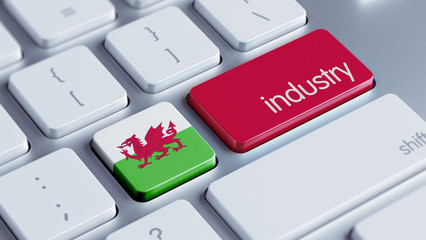 Wales Industry Concept