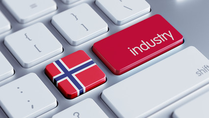 Norway Industry Concept