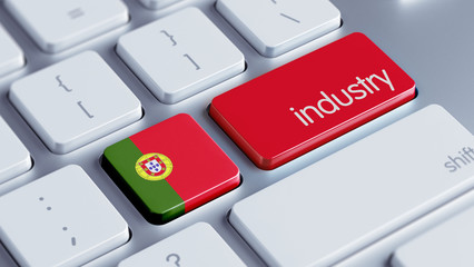 Portugal Industry Concept