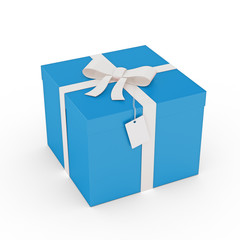 Gift Box and tag