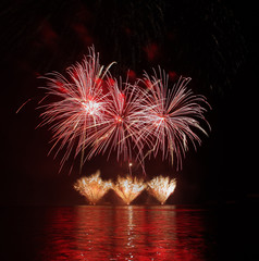 Fireworks - Ignis Brunensis in Czech republic in Brno 11.6.2014