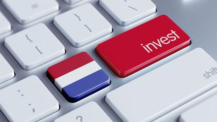 Netherlands Invest Concept.