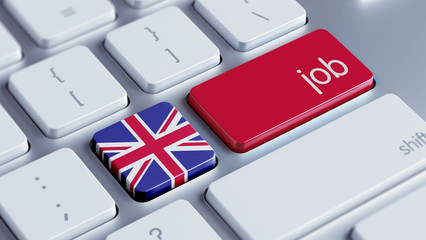 United Kingdom Job Concept