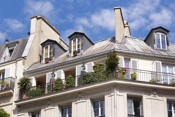 Appartement sous les toits de Paris