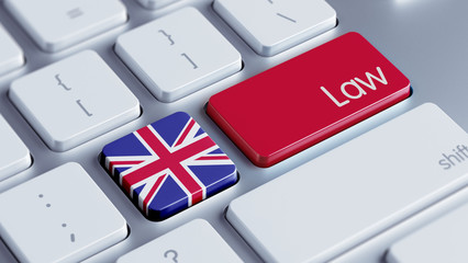 United Kingdom Law Concept