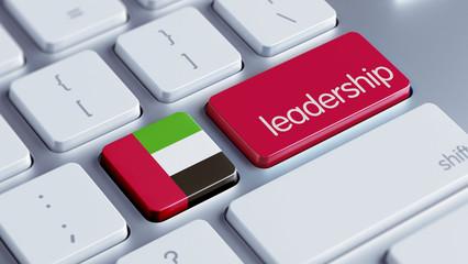 United Arab Emirates. Leadership Concept