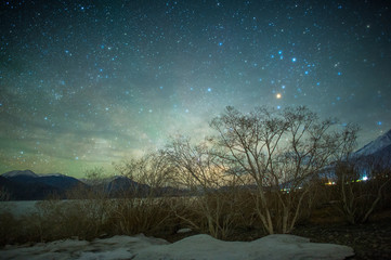 startrials at Pangong Lake,