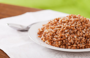 boiled buckwheat cereal
