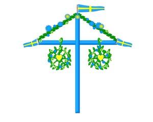 Midsummer symbol sweden
