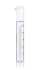 empty laboratory test tube