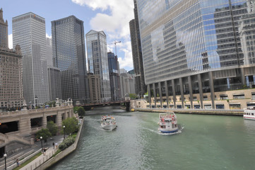Chicago River, USA