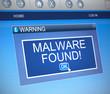 Malware concept. - 66395022