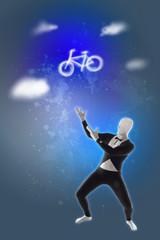 Fahrrad Rad Geschenk Traum träumen