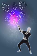 Puzzle Strategie Kreativität Puzzleteil Puzzleteile
