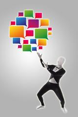 Social Network Netzwerk sozial Kommunikation