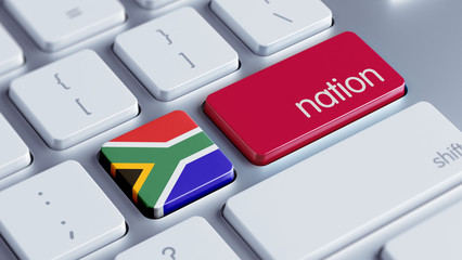 South Africa Nation Concept