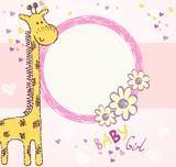 Fototapety baby giraffe