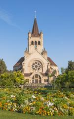 Basel, Altstadt, Pauluskirche, Kirche, Sommerausflug, Schweiz