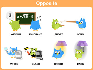 Opposite word for preschool