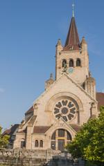 Basel, Altstadt, Kirche, Pauluskirche, Sommer, Schweiz