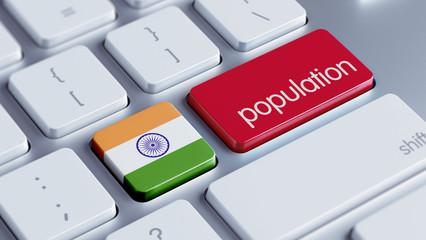 India Population Concept.