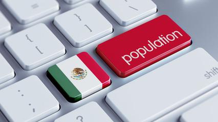 Mexico. Population Concept.