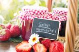 Strawberryjam homemade