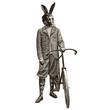 Lapin à vélo