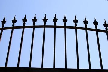 Puerta de metal