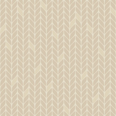 beige knitted seamless pattern