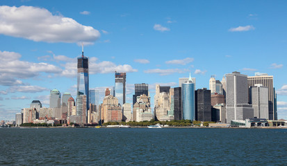 View on Manhattan skyline