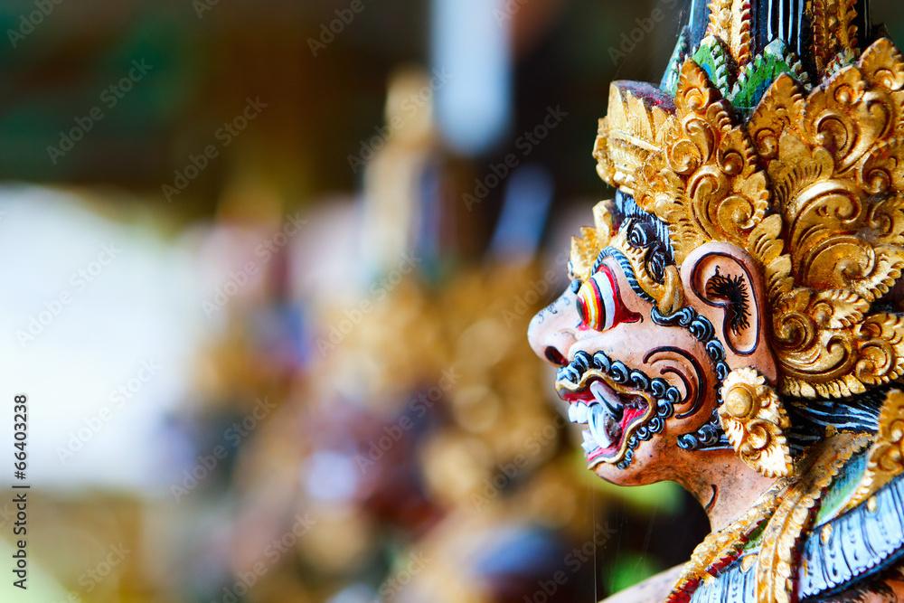 kot balinese statua hinduskie - powiększenie