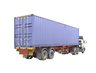 Container and truck