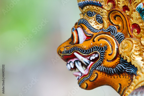 Plexiglas Indonesië Balinese God statue