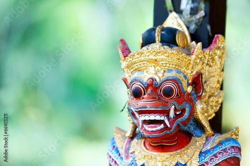 Tuinposter Standbeeld Balinese God statue