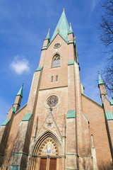 Famous Linkoping cathedral  in Sweden