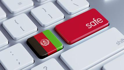 Afghanistan. Safe Concept