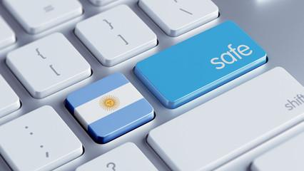 Argentina Safe Concept