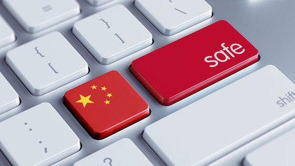 China Safe Concept