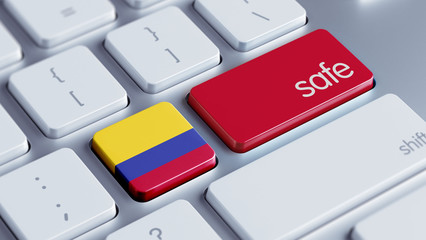 Colombia Safe Concept