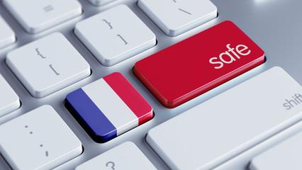 France Safe Concept