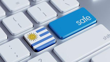 Uruguay Safe Concept