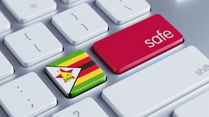Zimbabwe Safe Concept