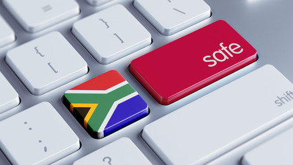South Africa Safe Concept